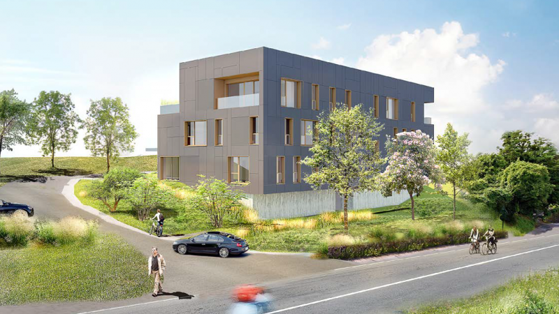 Construction de bureaux pour CEB à Aix les Bains