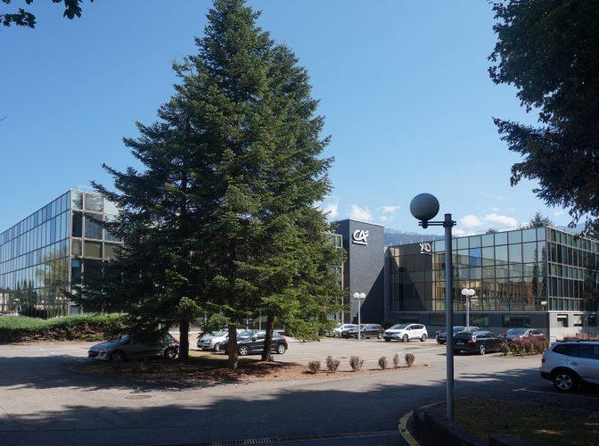 Rénovation dont désamiantage du site du Crédit Agricole à Annecy
