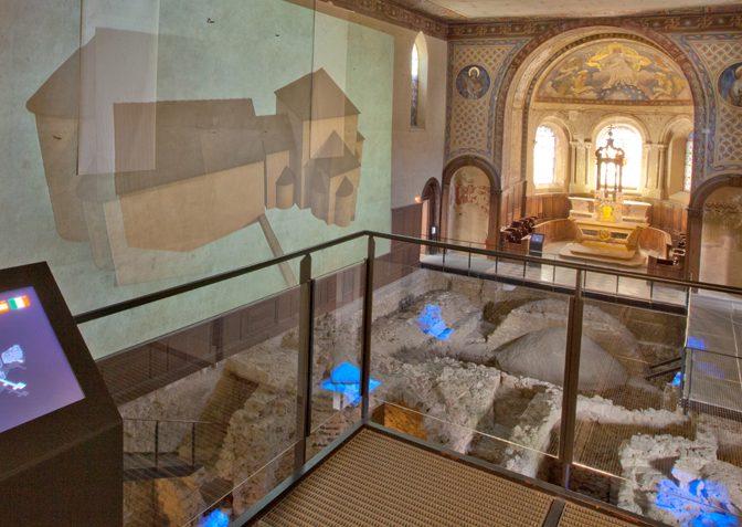 RÉHABILITATION DU MUSÉE ARCHÉOLOGIQUE DU CLOITRE SAINT LAURENT à GRENOBLE
