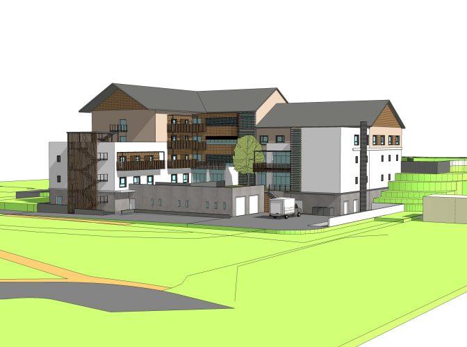 Construction d'un EHPAD de 82 logements foyers collectifs à Briançon