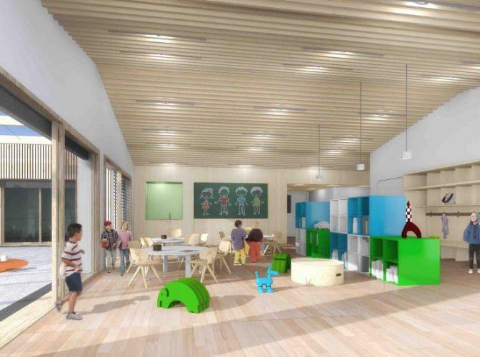 Construction d'un institut médico-éducatif à Villepinte