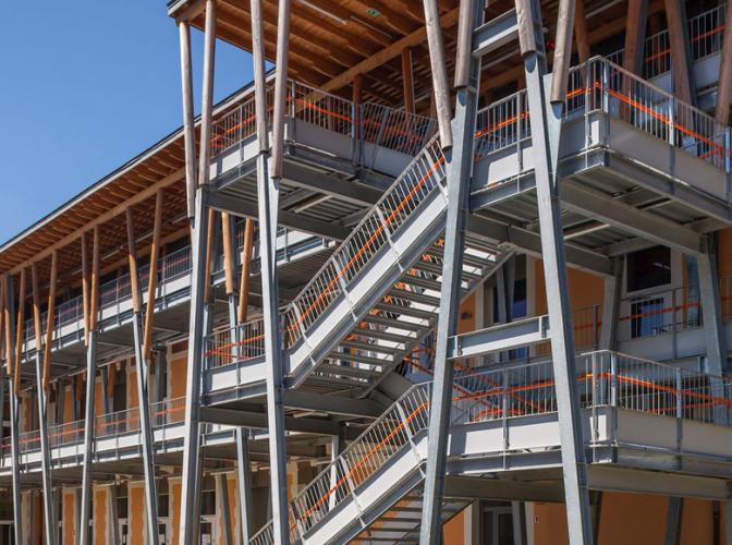 Restructuration Externat + demi-pension, aménagements extérieurs Lycée Ferdinand Buisson à Voiron