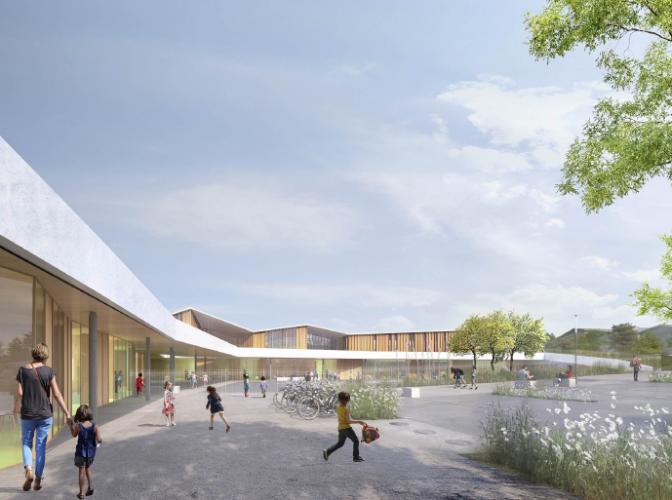 Reconstruction de l'école maternelle «Les Pottières» à Ville La Grand