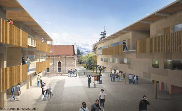 Réhabilitation du lycée Dominique Villars à Gap
