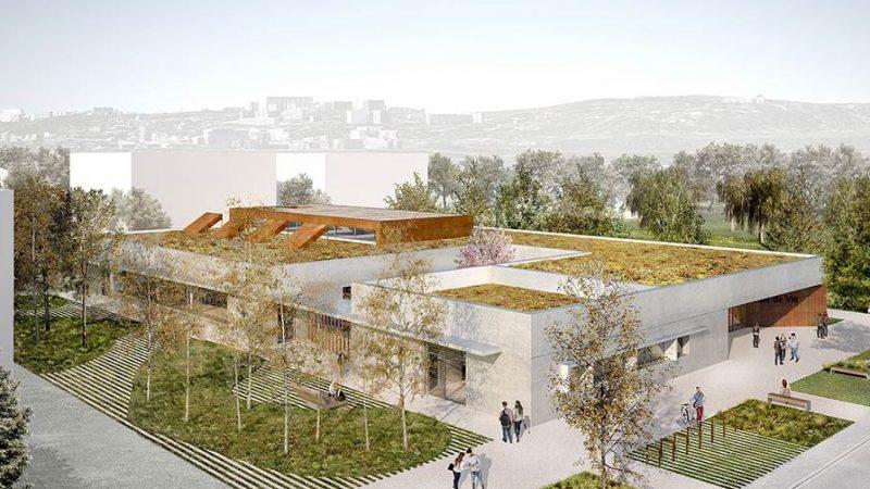 """Construction d'un bâtiment de restauration et de locaux dédiés à la vie étudiante """"Pole de vie"""" Lyon Cité Campus à Villeurbanne"""