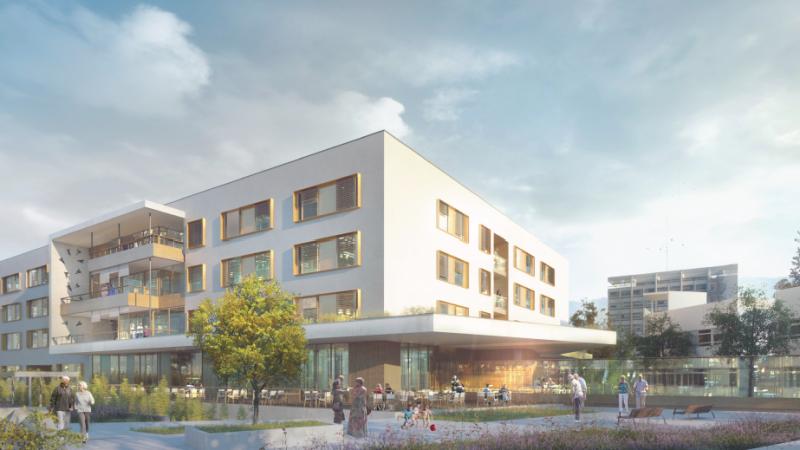Regroupement d'activité de gériatrie sur le site de l'Hôpital Sud à Echirolles