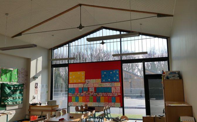 Construction de l'école maternelle du petit prince à Charvieu