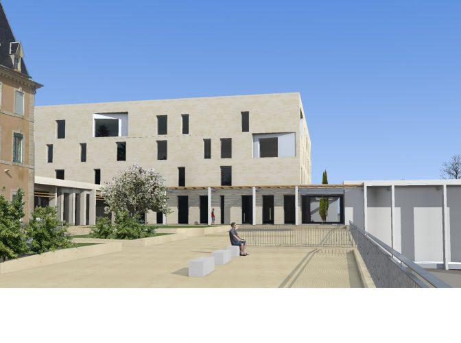 Restructuration extension Résidence pour personnes âgées « Notre Dame de la Blache » à Pont St Esprit