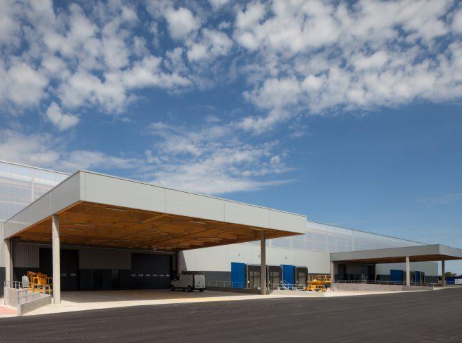 Construction d'une plateforme logistique pour AIRBUS à Cornebarrieu