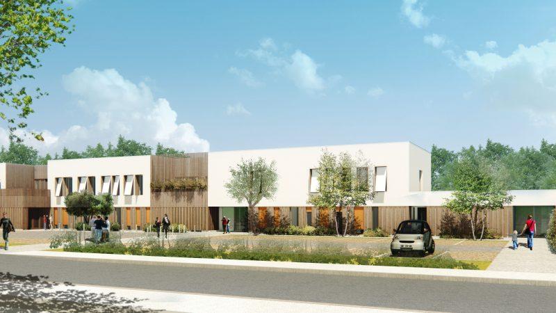 Construction d'un ensemble psychiatrie infanto-juvénile à Avignon