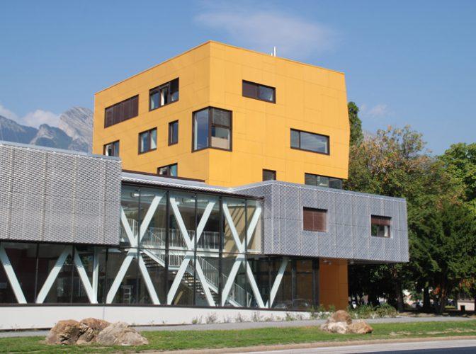 Construction de la maison de l'intercommunalité, de musique et de la danse à Albertville