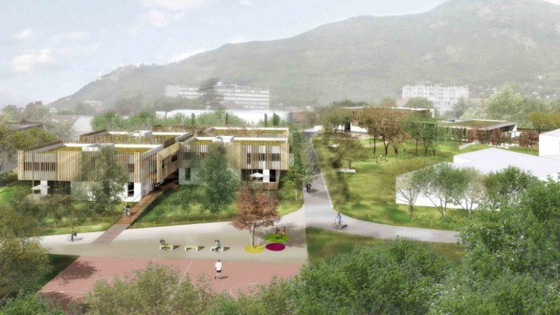 Restructuration et extension en site occupé de l'EPD le Charmeyran à La Tronche