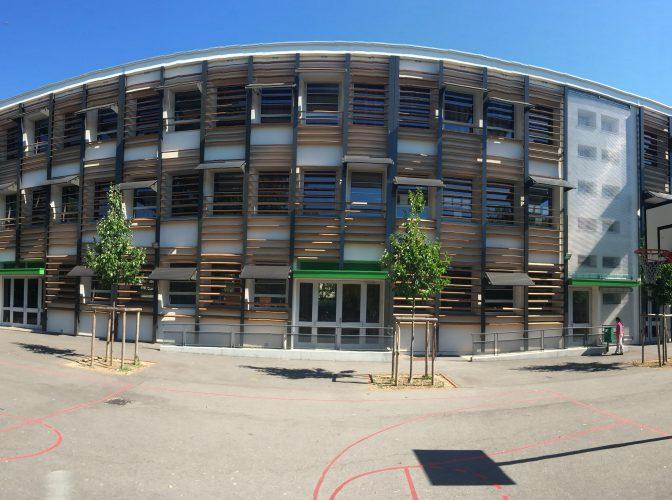 Réhabilitation thermique et énergétique du groupe scolaire St Exupéry à Villeurbanne