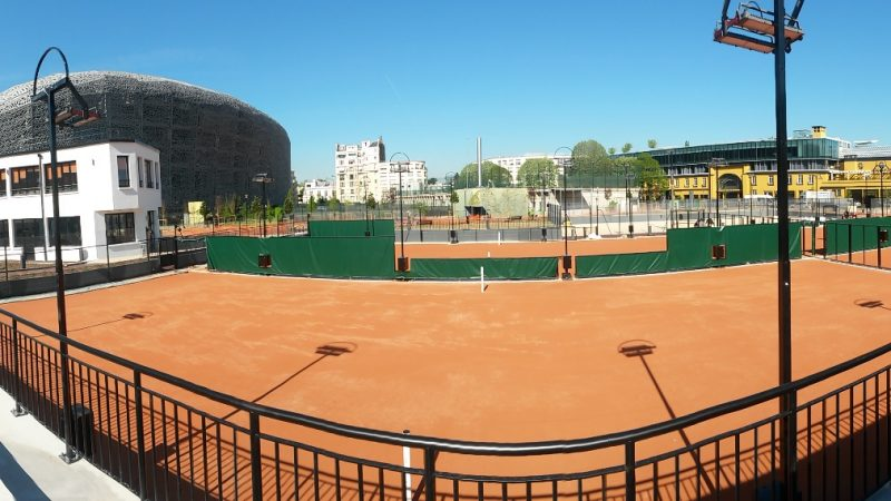 RESTRUCTURATION DU CENTRE SPORTIF JEAN BOUIN à PARIS