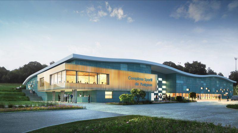 CONSTRUCTION D'UN COMPLEXE SPORTIF AVEC AMENAGEMENTS EXTERIEURS A PUSIGNAN
