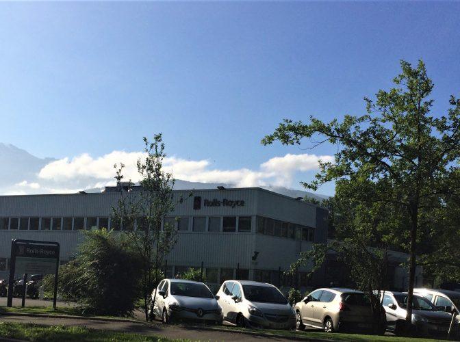 ROLLS ROYCE – Projet Space – Études de conception / rénovation du bâtiment 23 à Meylan