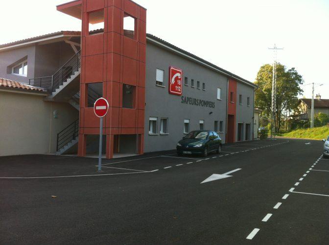 CONSTRUCTION D'UN CENTRE D'INCENDIE ET DE SECOURS A CREST