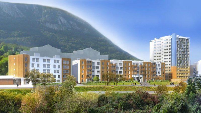 REHABILITATION LOURDE DE 127 LOGEMENTS SOCIAUX RESIDENCE « BOURG VIEUX » à VOREPPE