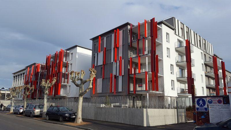 CONSTRUCTION DE 220 LOGEMENTS  «LE NOUVEAU MONDE» A CLERMONT-FERRAND (63)