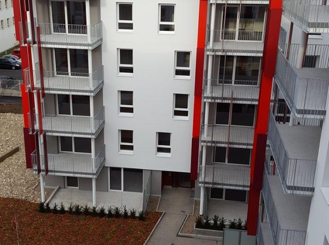 """CONSTRUCTION DE 220 LOGEMENTS  """"LE NOUVEAU MONDE"""" à CLERMONT-FERRAND"""