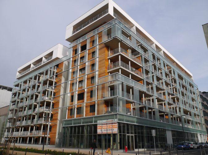 CONSTRUCTION 84 LOGEMENTS PASSIFS ILOT E4 à LYON CONFLUENCE