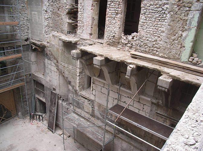 RESTAURATION DES ANCIENS HOTELS PARTICULIERS DE PIERRE BUCHET ET DE CROY-CHANEL à GRENOBLE