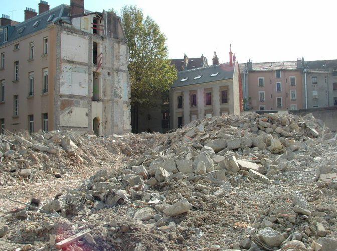 DÉMOLITION ET RECONVERSION DE L'ANCIENNE CLINIQUE DES BAINS  à GRENOBLE