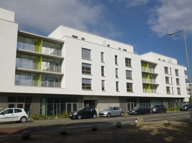 CONSTRUCTION 60 LOGEMENTS + LOCAUX COMMERCIAUX à BOURG LES VALENCE (26)