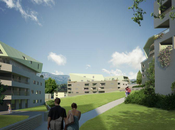 CONSTRUCTION DE 150 LOGEMENTS SOCIAUX «LES TRESUMS» à ANNECY (74)