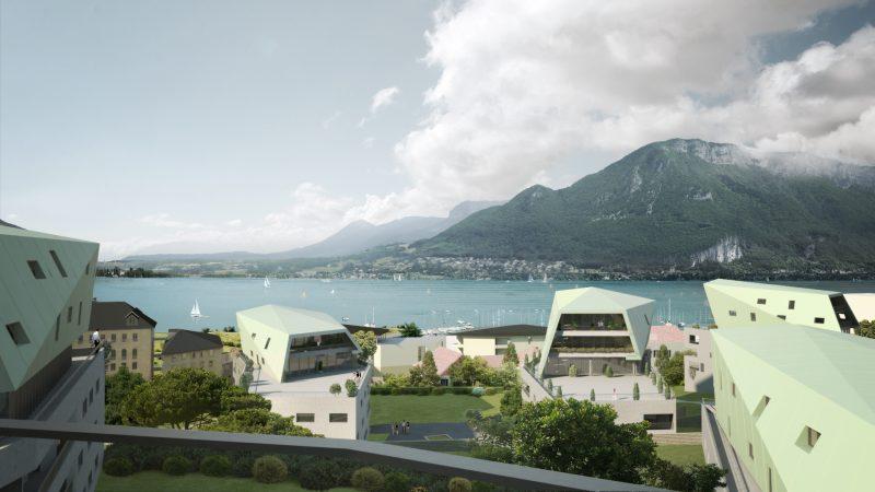 CONSTRUCTION DE 150 LOGEMENTS SOCIAUX «LES TRESUMS» A ANNECY (74)