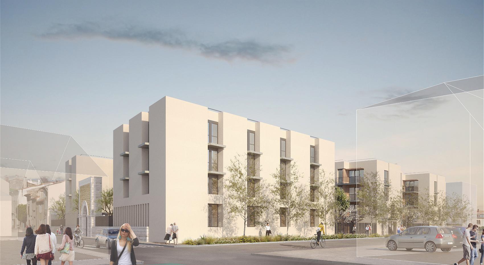 Construction d'une résidence universitaire et de logements séniors sur l'ancien site de la Prison à Valence