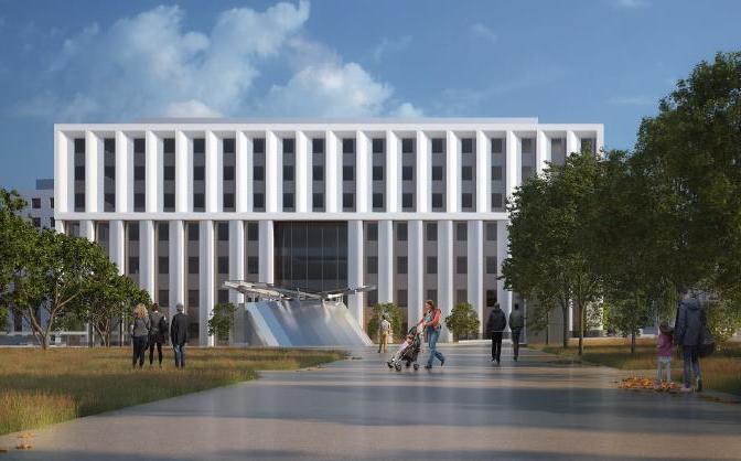 CONSTRUCTION DE L'HÔPITAL PRIVE DE MARSEILLE BD LOUIS ARMAND – 600 LITS