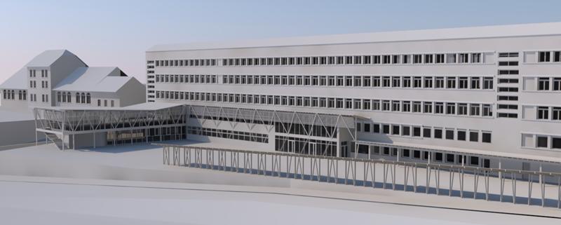 EXTENSION ET RESTRUCTURATION DU COLLÈGE LES 6 VALLÉES à BOURG D'OISANS