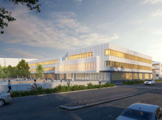 CONSTRUCTION DU COLLÈGE INTERCOMMUNAL à VALENTON