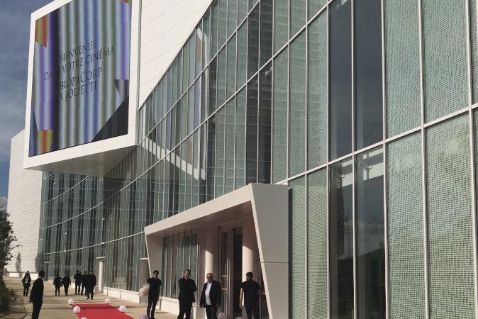 RÉALISATION D'UN CINÉMA MULTIPLEXE EUROPACORP LA JOLIETTE  à MARSEILLE