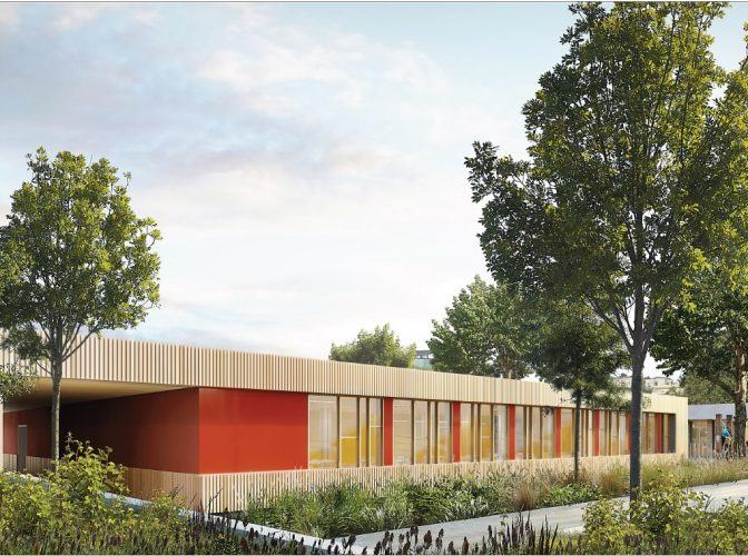 Construction équipement petite enfance / familles + restructuration école Ray Gorbella à Nice