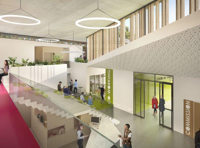 Construction du Cœur Centre INRA à Avignon