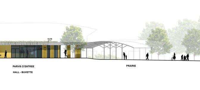 Construction d'une salle des fêtes à Communay