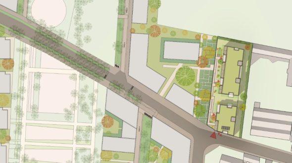 Construction de 30 logements sociaux Eco Quartier Montplaisir Quarantaine à Villefranche sur Saône